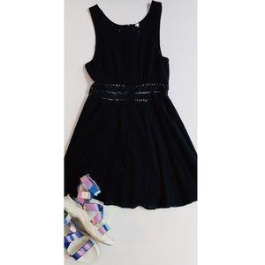 Free people daisy cutout mini dress